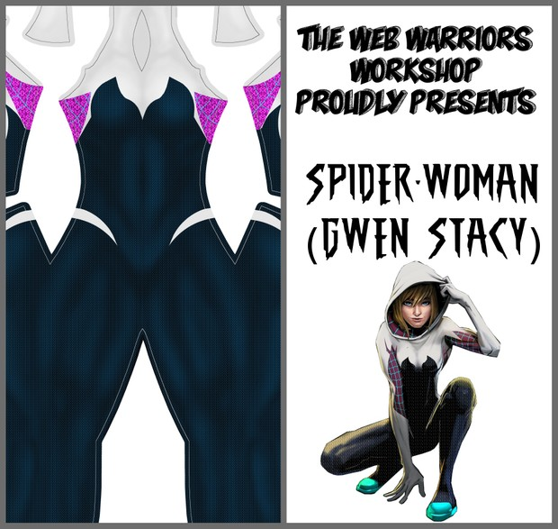 Spider-Woman (Gwen Stacy) Dye Sublimation Print File