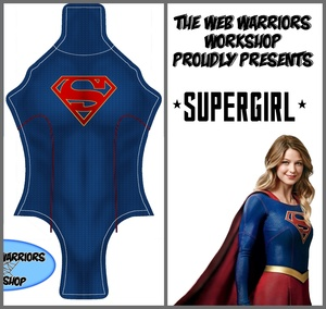 Supergirl Dye Sublimation Print File