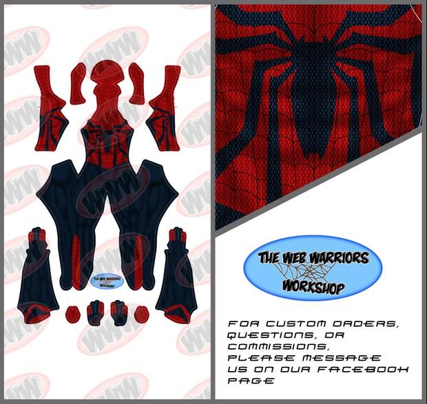 Spider-Man (Ben Reilly) Dye Sublimation Print File