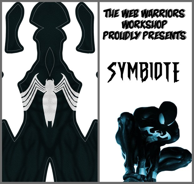 Symbiote Dye Sublimation Print File