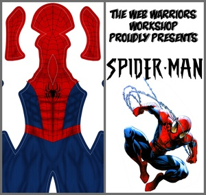 Spider-Man Dye Sublimation Print File