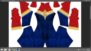 Captain Marvel (Carol Danvers) Dye Sublimation Print File