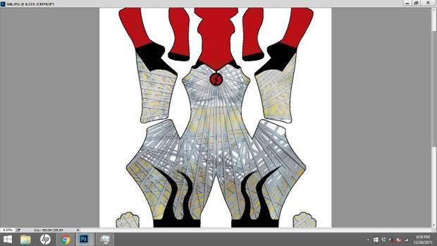 Silk Dye Sublimation Print File