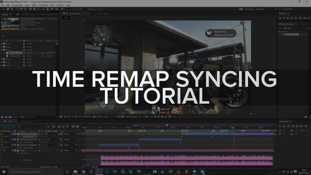 Complete Time Remap Syncing Tutorial.