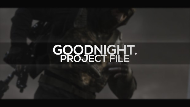 Goodnight  - Project File.