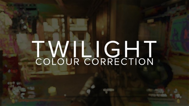 TWILIGHT - Colour Correction