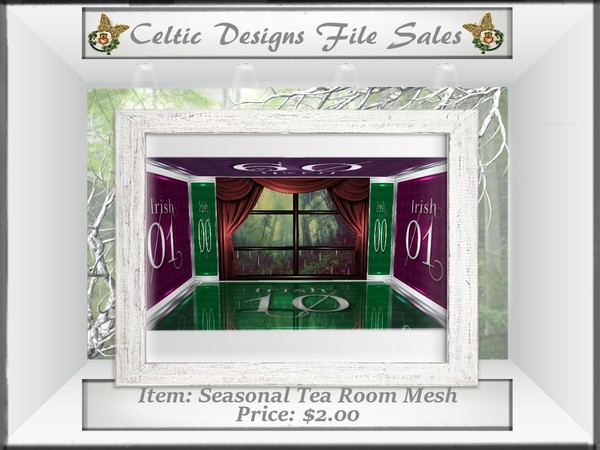 CD Seasonal Tea Room Mesh
