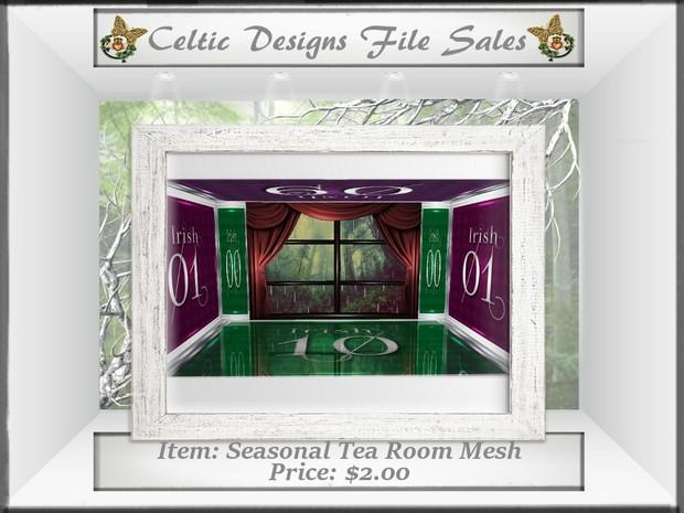 CD Seasonal Tea Room Mesh