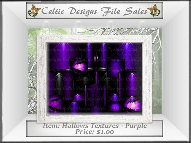 CD Hallows Textures - Purple