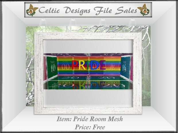 CD Pride Room Mesh