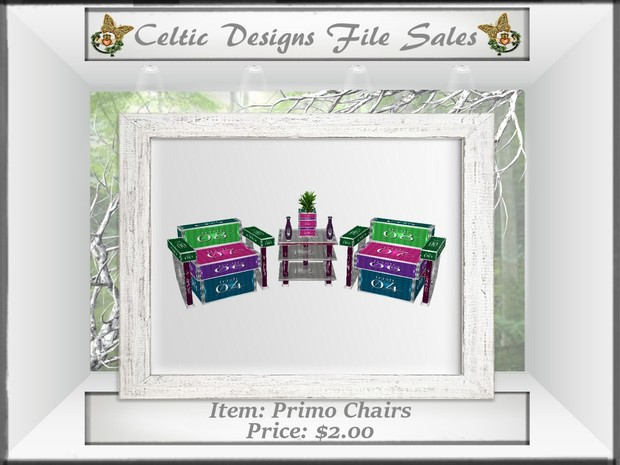 CD Primo Chairs