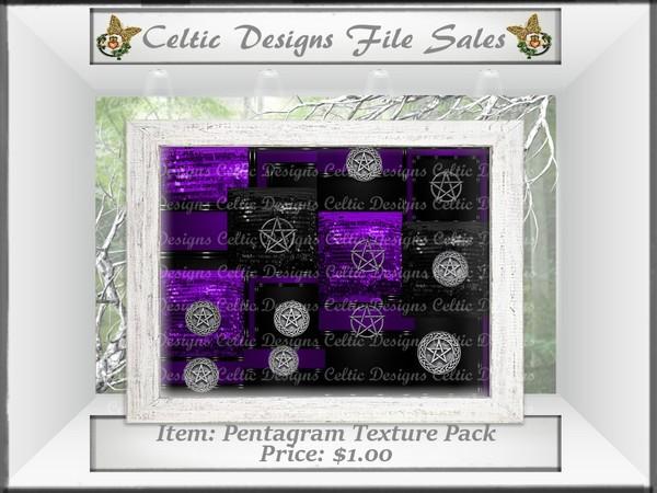 CD Purple Pentagram Texture Pack