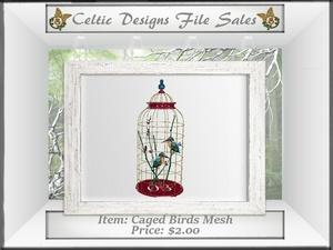 CD Caged Birds Mesh