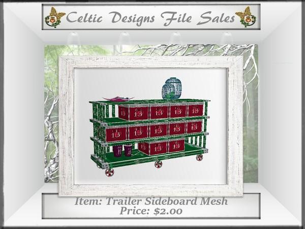 CD Trailer Sideboard Mesh