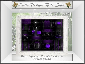 CD Spookz Purple Textures