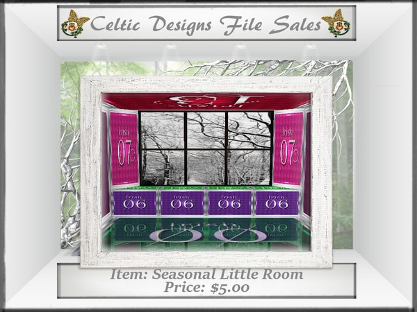 CD Semi-Exclusive Seasonal Little Room Mesh
