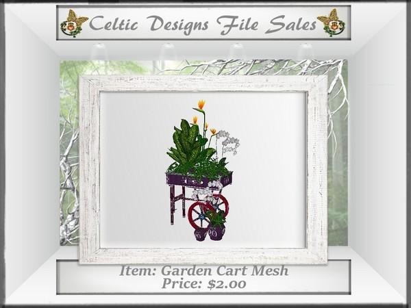 CD Garden Cart Mesh