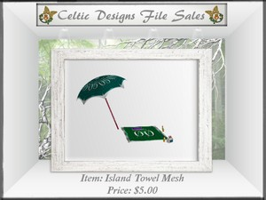 CD Island Towel Mesh
