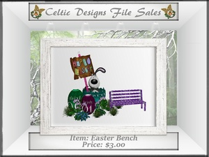 CD Easter Bench Mesh