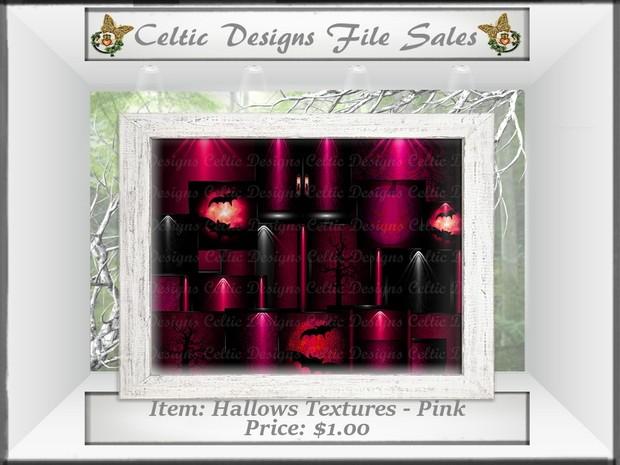 CD Hallows Textures - Pink