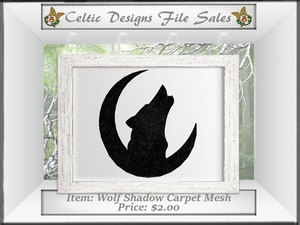 CD Wolf Shadow Carpet Mesh