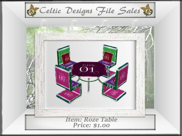 CD Roze Table