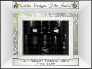 Cd Hallows Textures - Silver