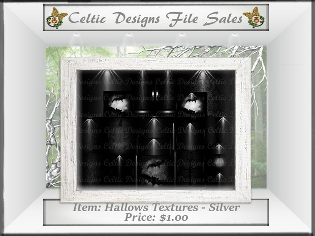 Cd Hallows Textures - Silver