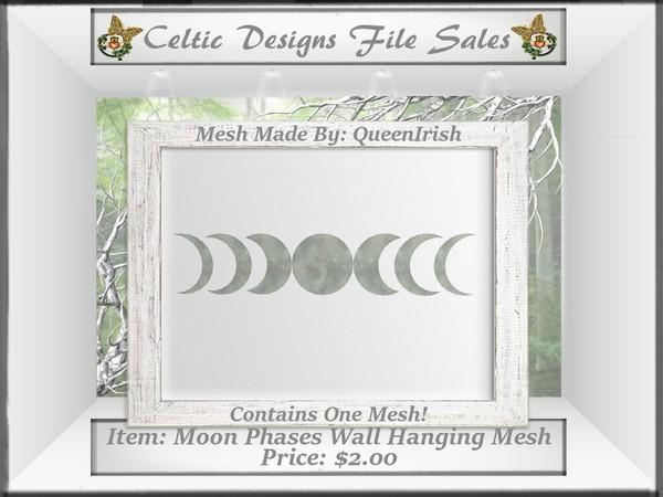 CD Moon Phases Wall Hanging Mesh