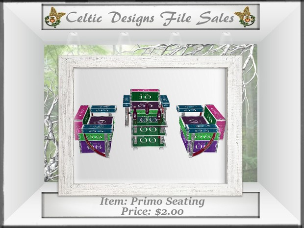 CD Primo Seating