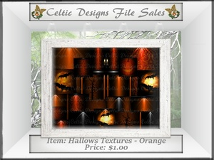 CD Hallows Textures - Orange