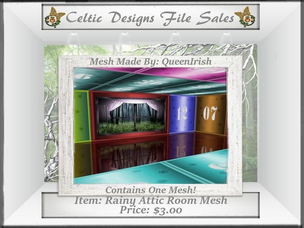 CD Rainy Attic Room Mesh