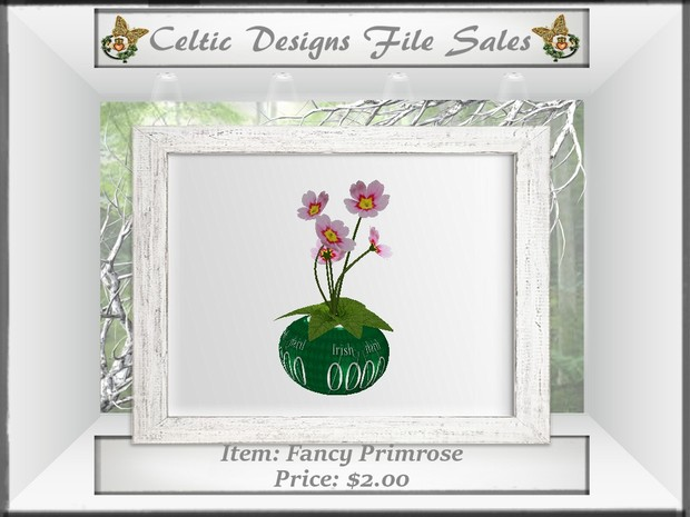 CD Fancy Primrose
