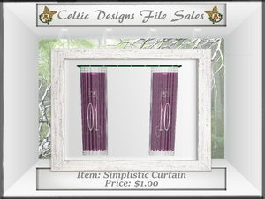 CD Simplistic Curtain