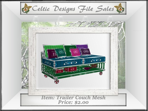 CD Trailer Couch Mesh