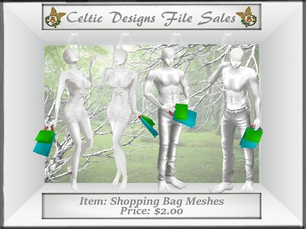 CD Shopping Bag Meshes