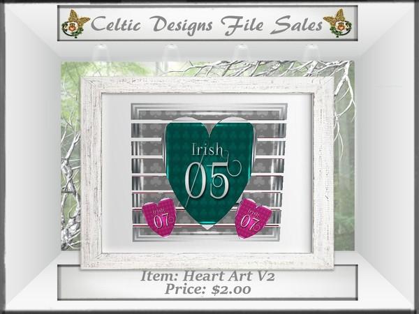 CD Heart Art V2 Mesh