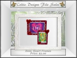 CD Heart Frames