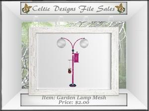 CD Garden Lamp Mesh