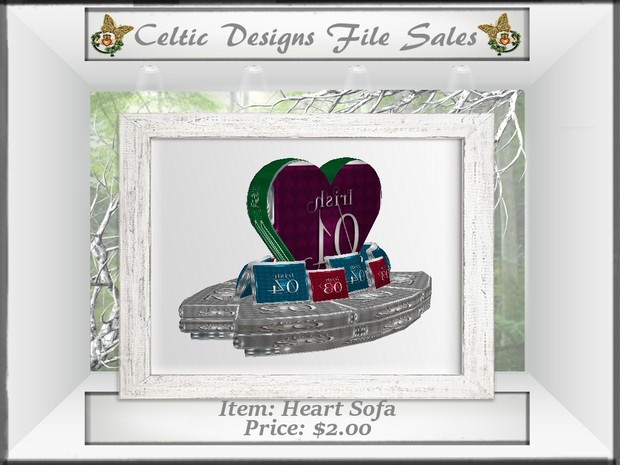 CD Heart Sofa