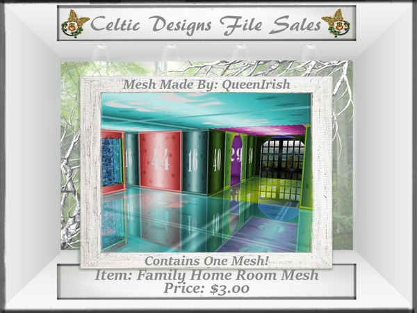 CD Family Home Room Mesh
