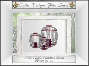 CD Caged Candles Mesh
