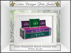 CD Simplistic Bench Version One