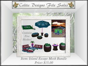 CD Island Escape Mesh Bundle