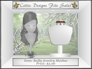 CD Bulbz Jewelry Meshes