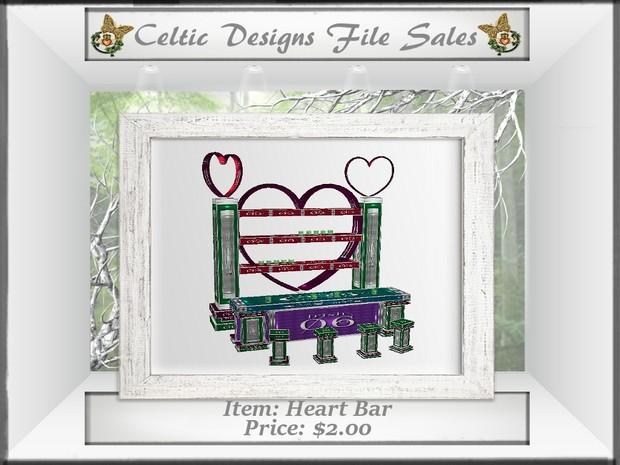 CD Heart Bar