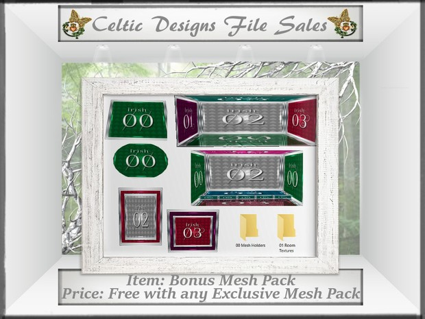 CD Exclusive Observation Mesh Pack