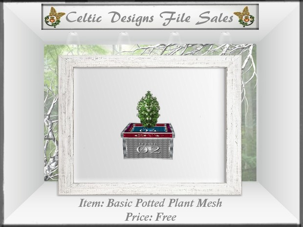 CD Basic Potted Plant Mesh