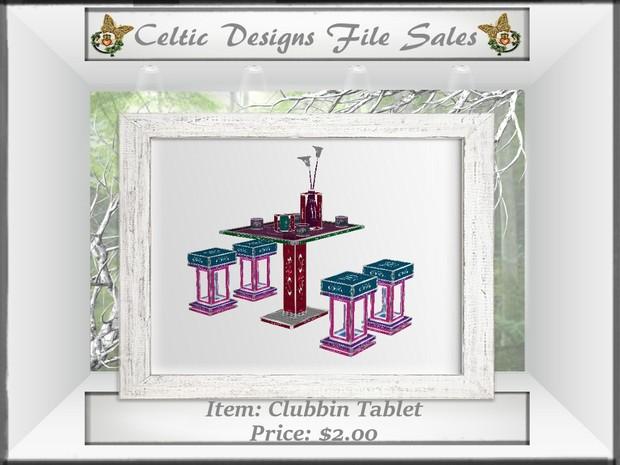CD Clubbin Tablet