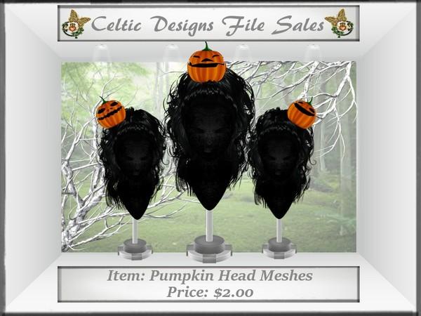 CD Pumpkin Head Meshes